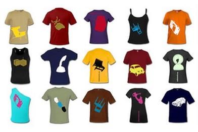 creare e stampare un proprio marchio su magliette