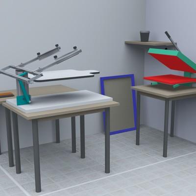 laboratorio per transfer serigrafico