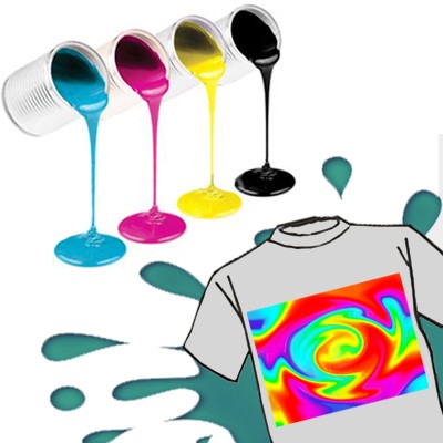 inchiostri plastisol per serigrafia su t-shirt