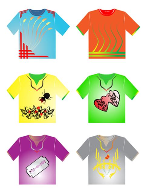 magliette stampate in serigrafia