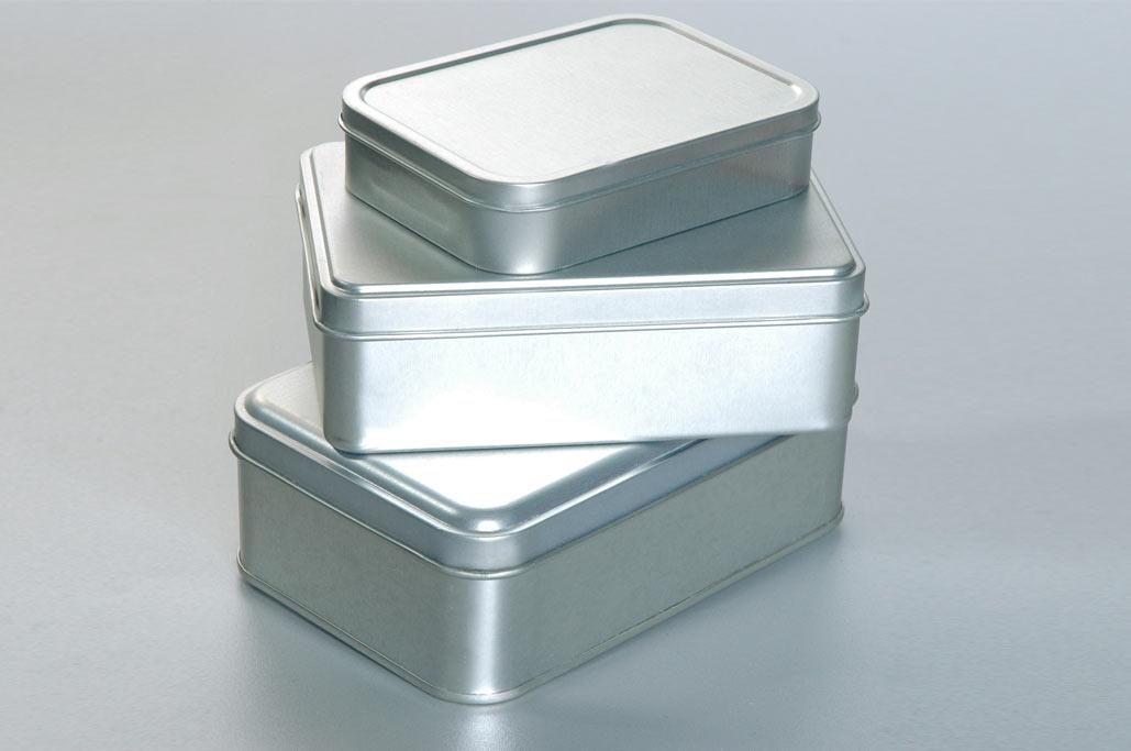 serigrafia su scatole di alluminio