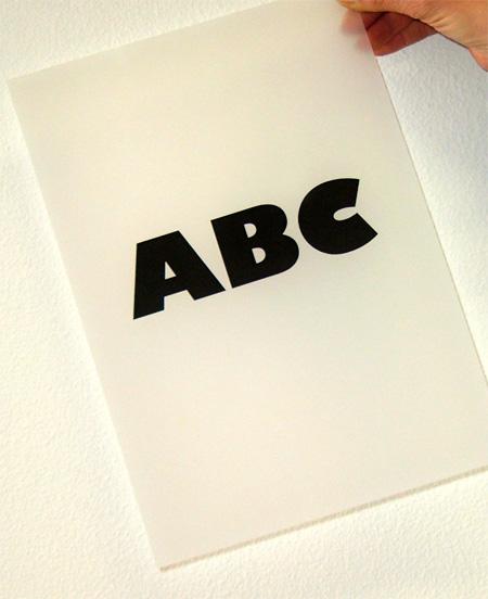 pellicole per serigrafia con nero coprente