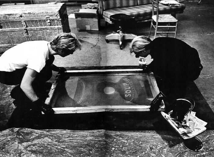 Andy Warhol stampa in serigrafia