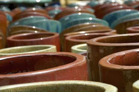 stampa in tondo su ceramica