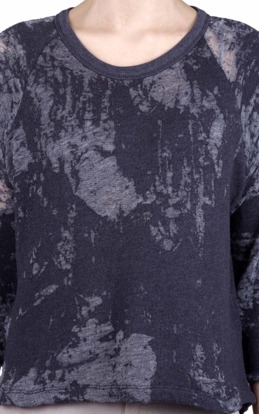 stampa a corrosione su tessuto