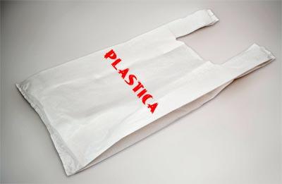 stampa su sacchetto di plastica