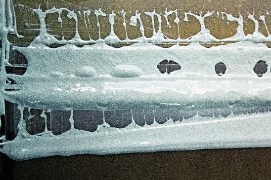 inchiostri all'acqua coprenza e otturazione del telaio