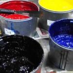 inchiostri all'acqua per serigrafia
