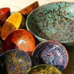 decorare ceramica con la tecnica serigrafica