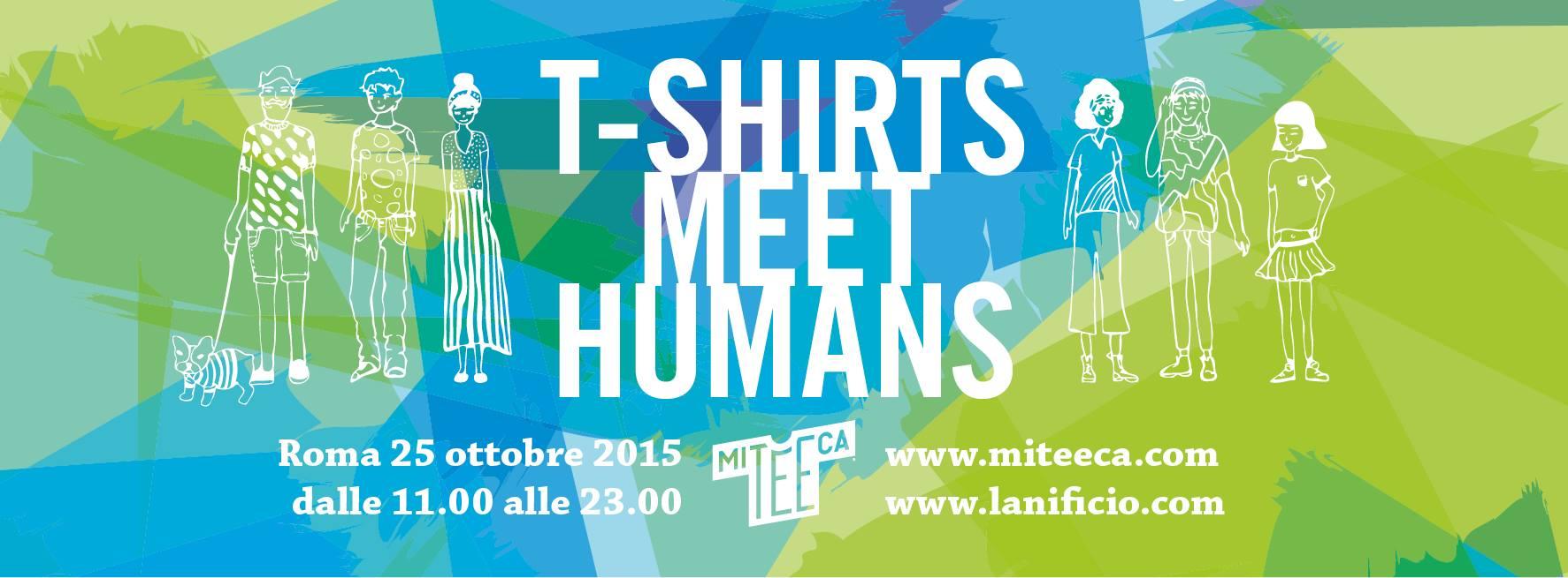 festival evento sulla maglietta a Roma