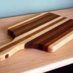 come fare decalcomania su tagliere di legno