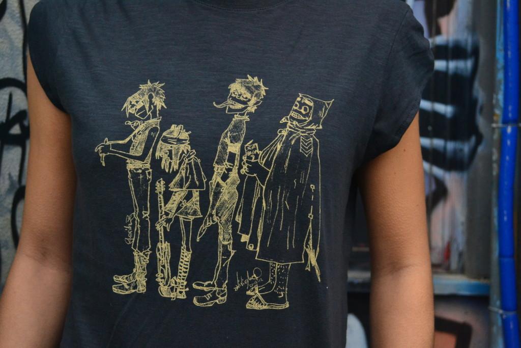 magliette per la musica a Roma