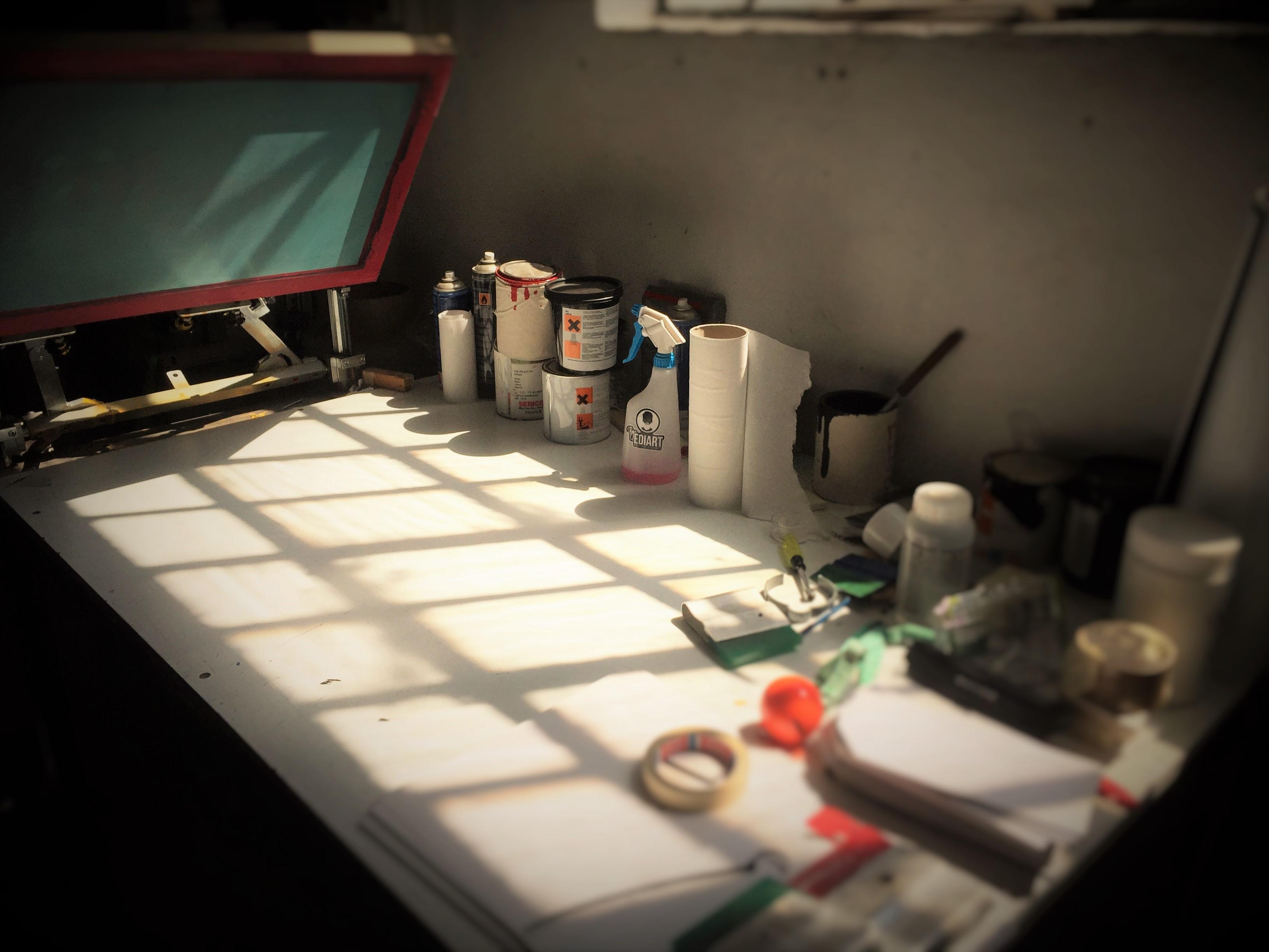 laboratorio di serigrafia EdiArt Pavia