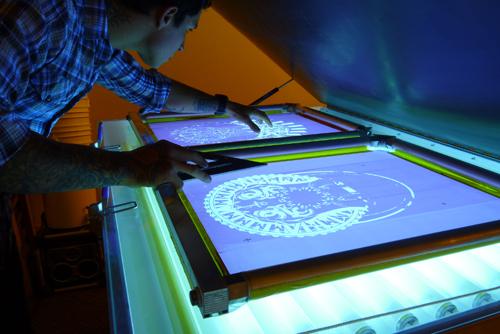 come preparare un telaio per serigrafia