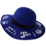 serigrafia su cappelli feltro lana