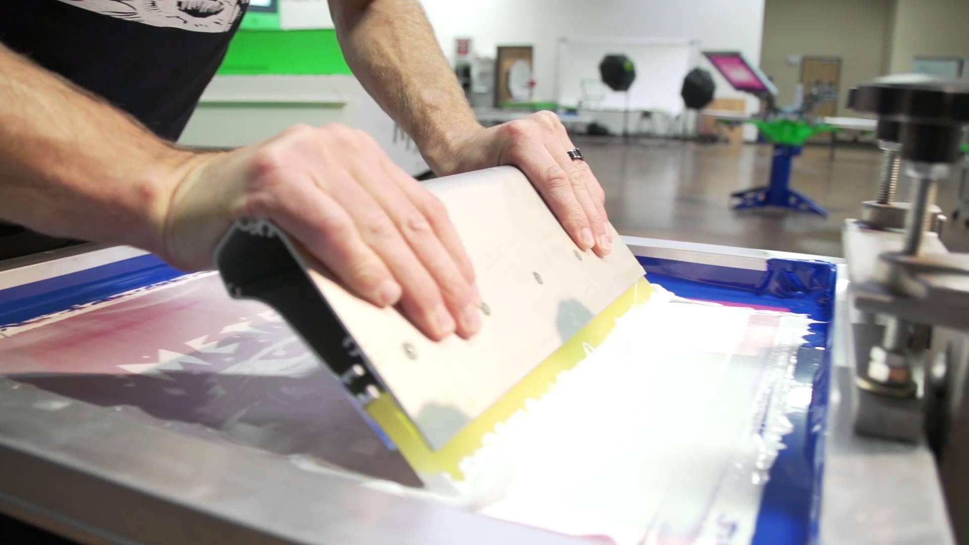 serigrafia plastisol bianco