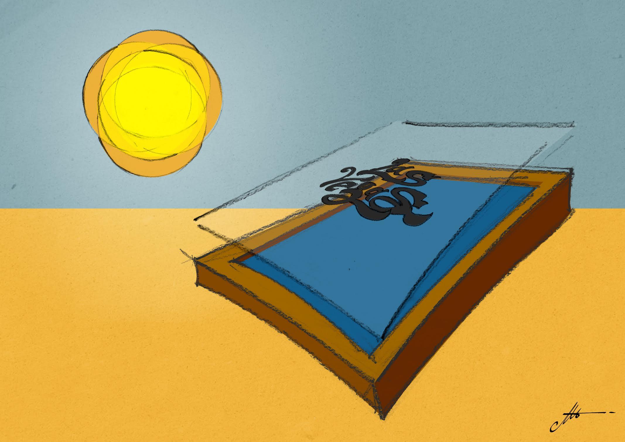 incidere i telai serigrafici con la luce del sole