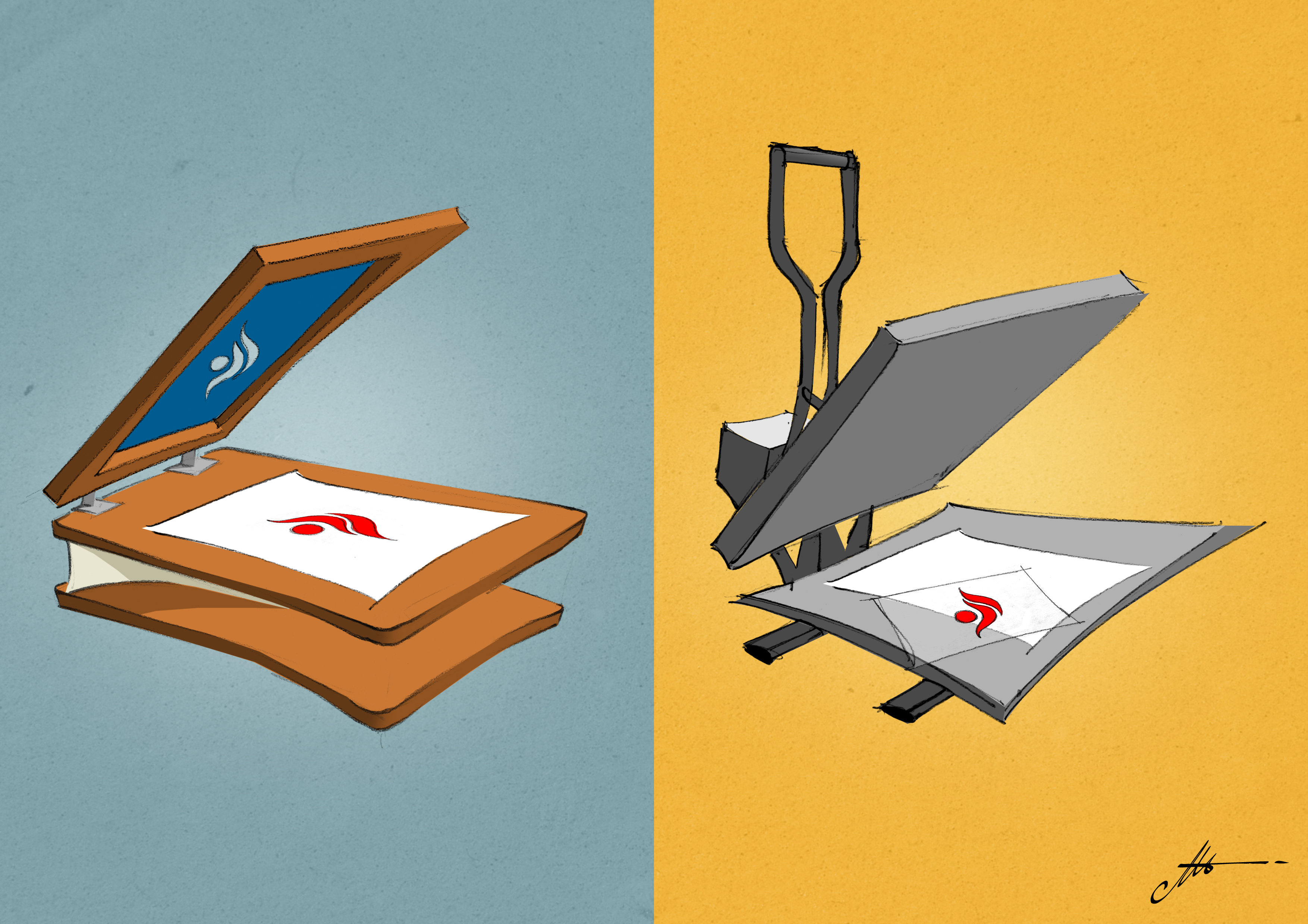 stampa serigrafia o digitale