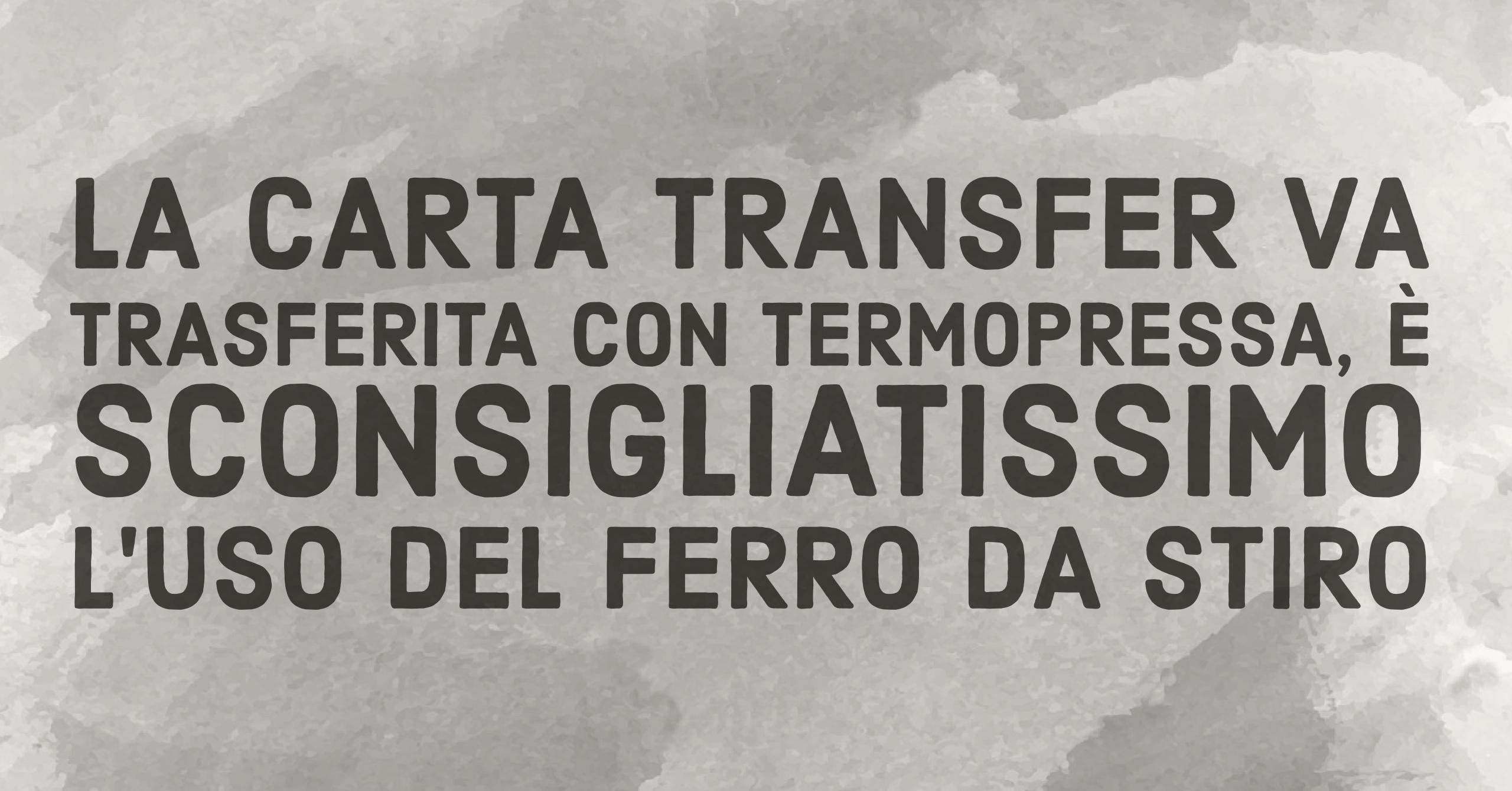 carta transfer autoscontornante