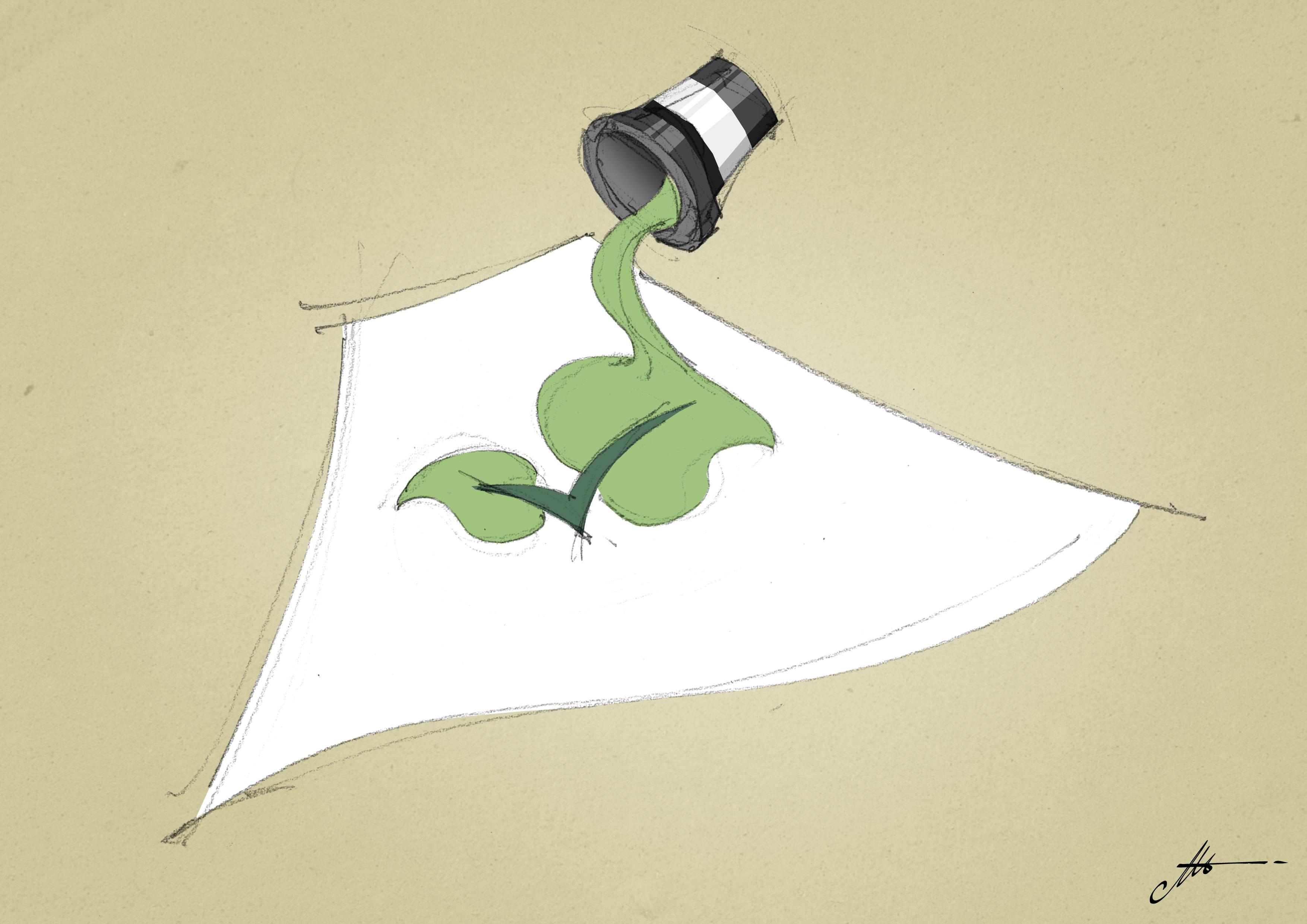 come stampare su carta con inchiostri ecologici
