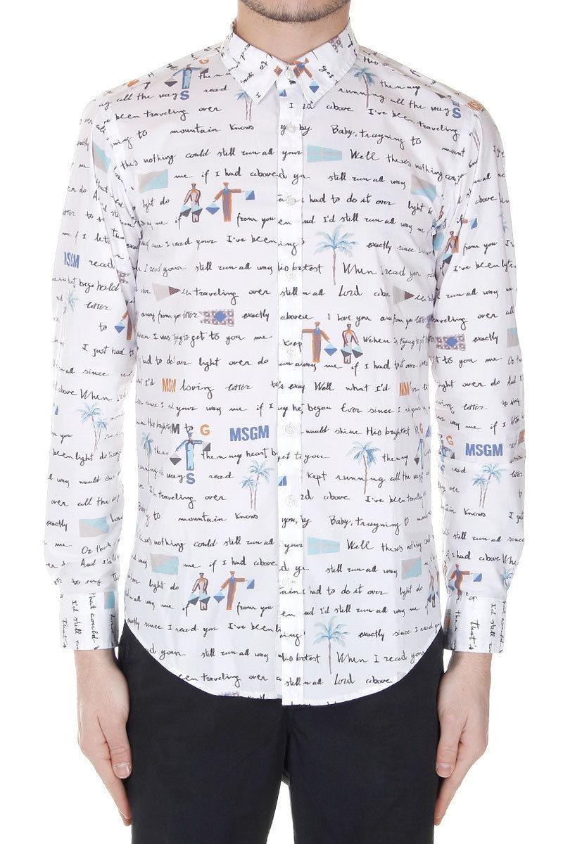 serigrafia su camicia cotone